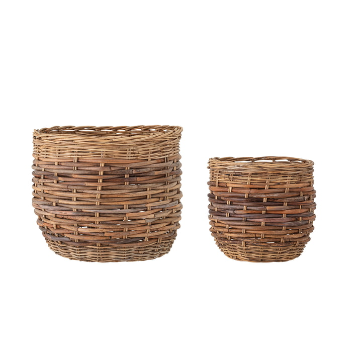 Lalou Storage baskets (set of 2) from Bloomingville