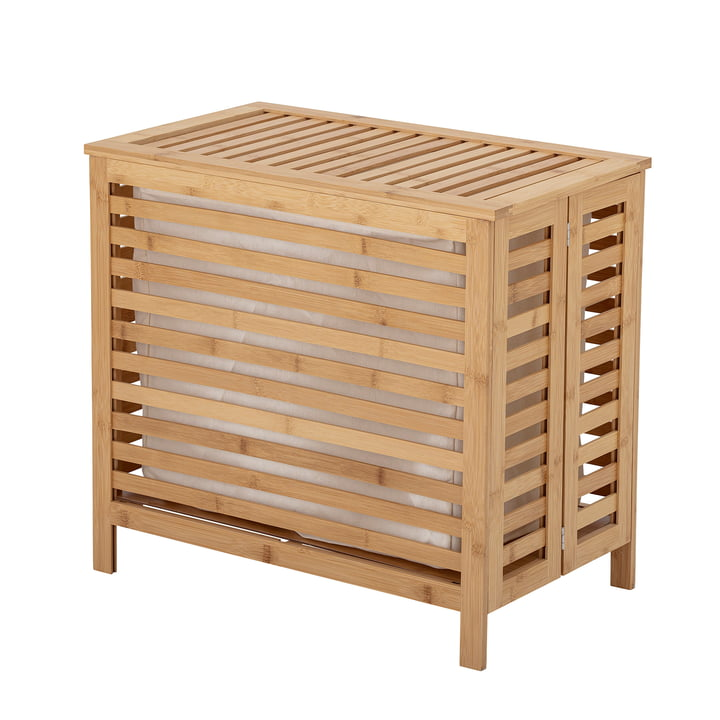 Aden Laundry basket from Bloomingville made of natural bamboo