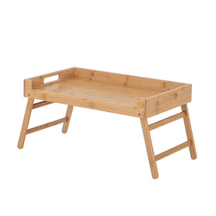 Aden Tray table from Bloomingville in natural bamboo