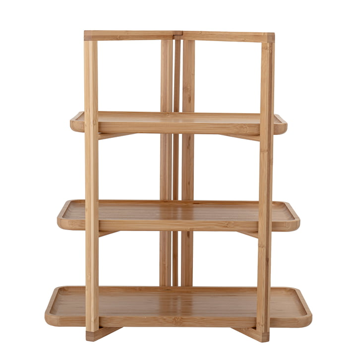 Adona tray shelf from Bloomingville in natural bamboo (4-pcs,)