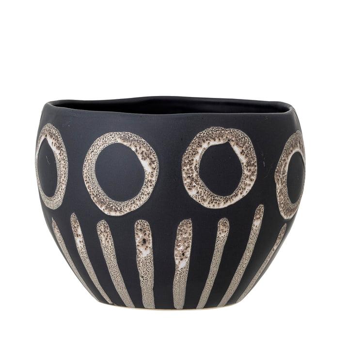 Magnus Flowerpot from Bloomingville in black