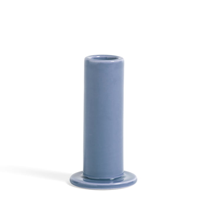 Tube Candleholder M from Hay in color lavender