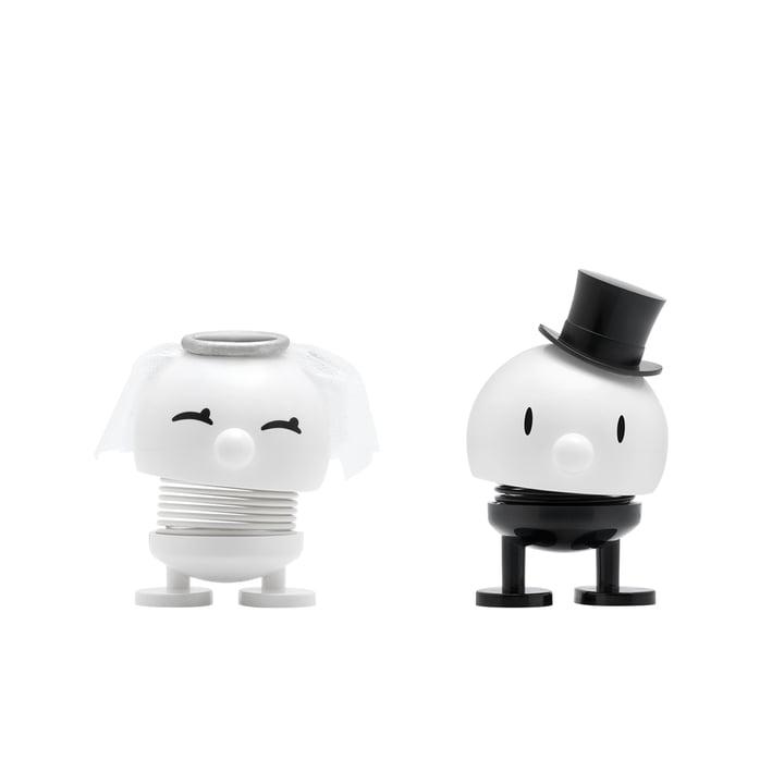 Bride & Groom, small / white from Hoptimist