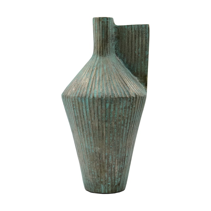 Cleo Vase, H 30 cm from House Doctor , antique gold finish