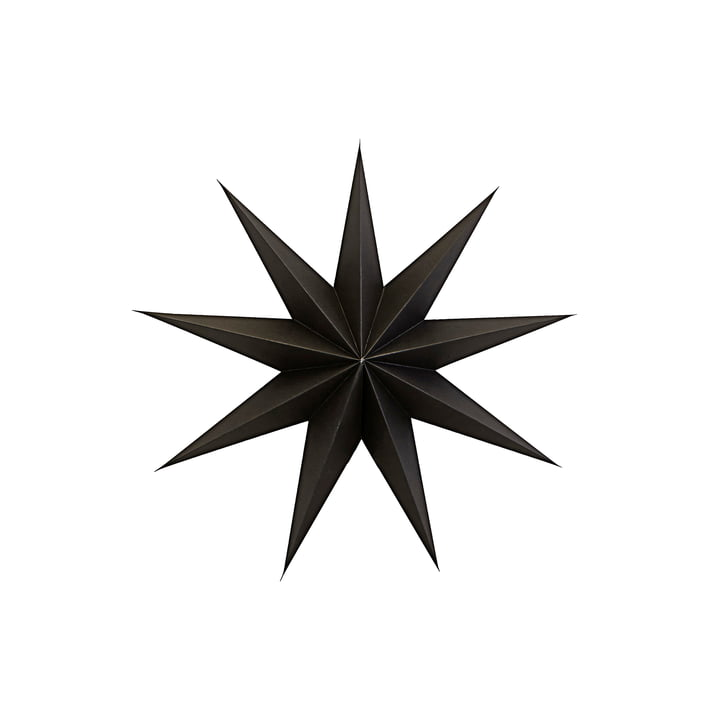 9 Point Christmas star 45 cm from House Doctor in color brown