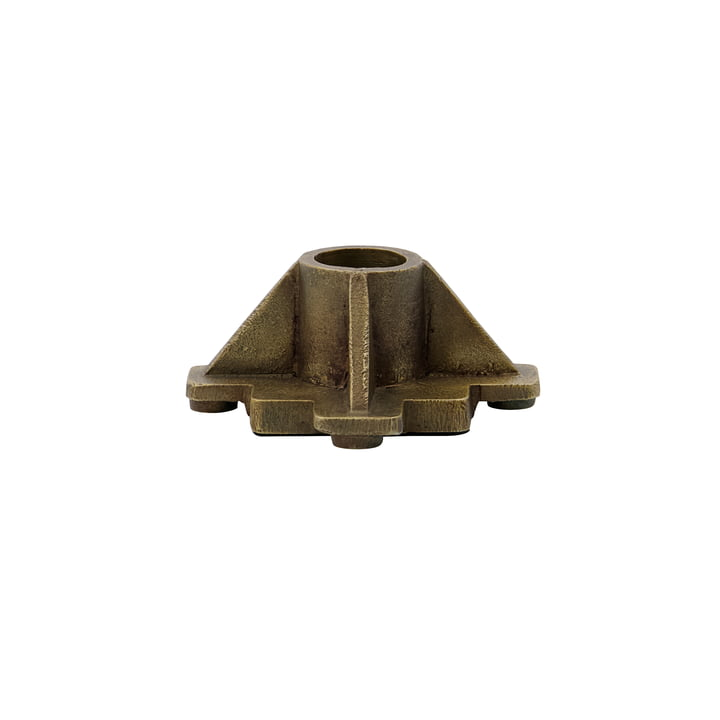 Castle Candleholder from House Doctor in antique brass finish