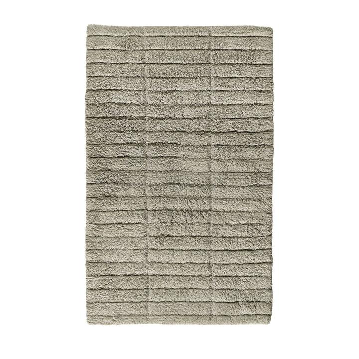 The Soft Tiles bathroom mat from Zone Denmark , 50 x 80 cm, eucalyptus green