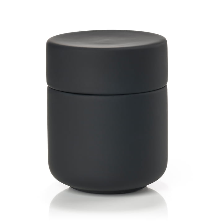 Ume Jar with lid from Zone Denmark in black