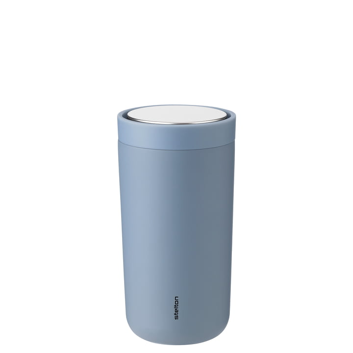 To Go Click 0,2 l double-walled from Stelton , soft dusty blue