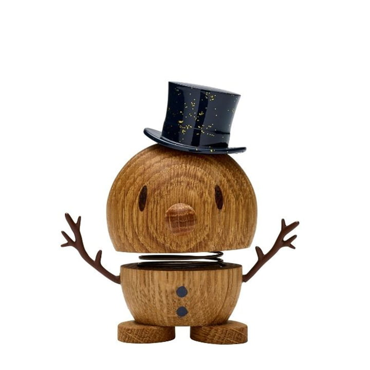 Snowman, small / oak from Hoptimist