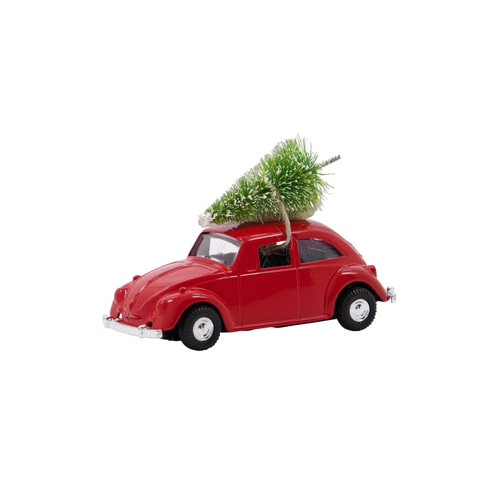 Xmas Cars Decorative car from House Doctor in the color red