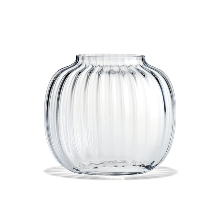 Primula Vase oval from Holmegaard in the clear version