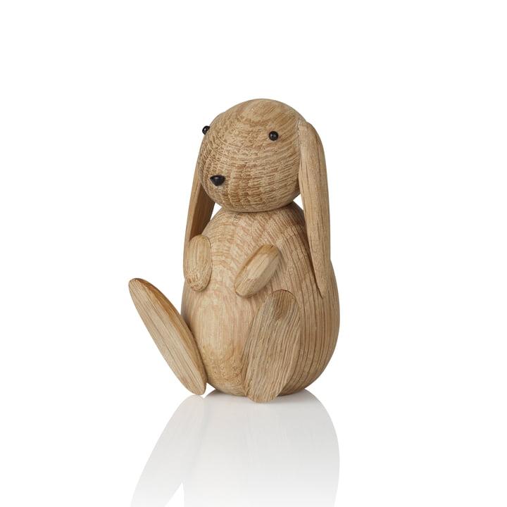 Bunny Wooden figure H 8.5 cm from Lucie Kaas in oak