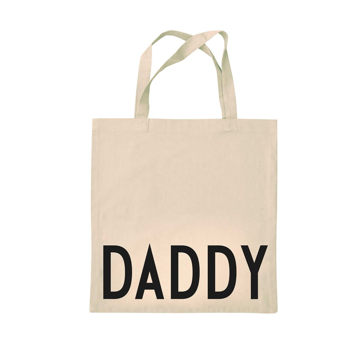 AJ Favourite tote bag from Design Letters in dad / off-white