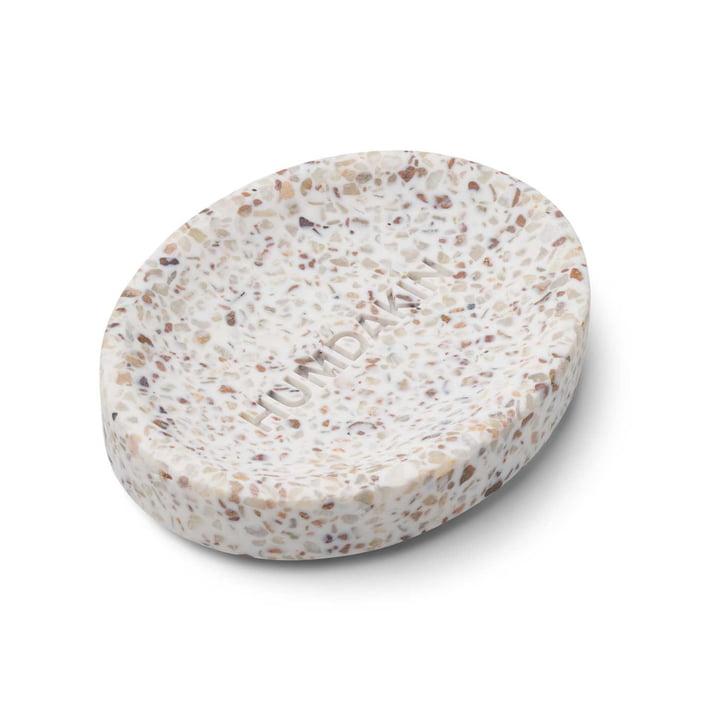 Terrazzo soap dish, 13 x 10 cm by Humdakin
