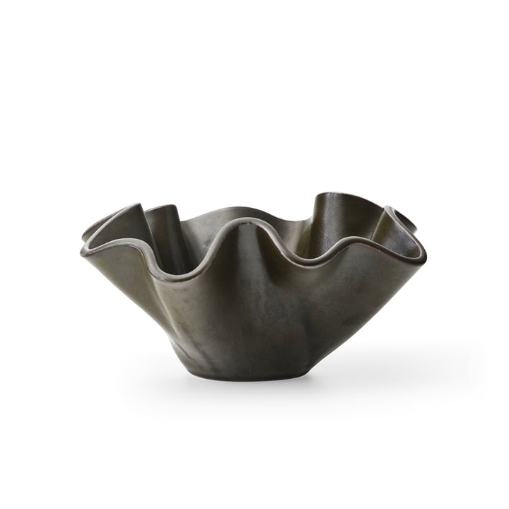 Fragilis Decorative bowl, small, black by MENU