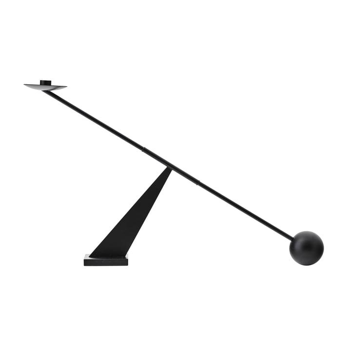 Interconnect Candlestick, h 41,5 x l 70 cm, black by MENU