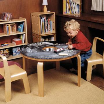 Look Me Children's Chair & Woody Chalkboard Table