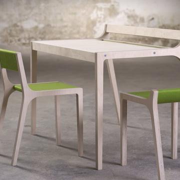 Sibis Afra children's desk, green