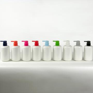 Lunar soap dispenser in multiple colours
