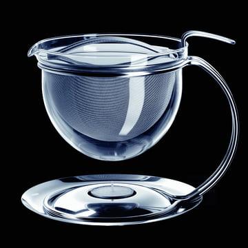 mono filio teapot with integrated teapot warmer