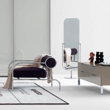 Simple and Harmonic: Cappellini Mirror Floor Mirror
