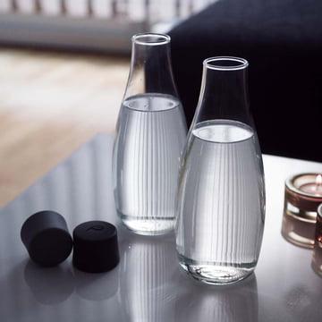Retap - Drinking Bottle, black lid, ambience