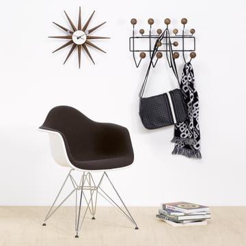 Vitra Hang it all Wardrobe (Special Edition), walnut/black