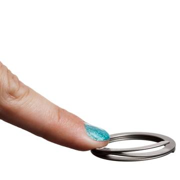 Drosselmeyer - Free-Key Key Ring, in use