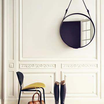 Adnet Mirror by Gubi in the Hallway