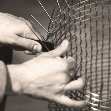 Handwoven Wire Baskets by Korbo