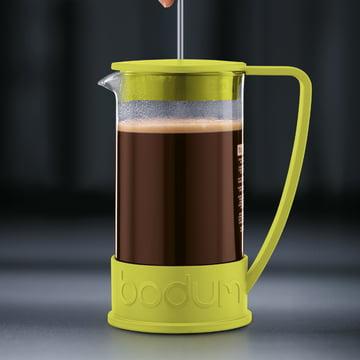 Bodum - Brazil Coffee Maker, 1.0 l, lime - preparation 3