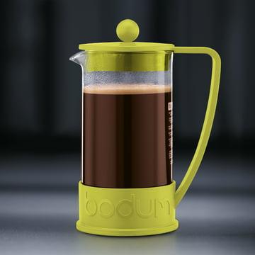 Bodum - Brazil Coffee Maker, 1.0 l, lime - preparation 4