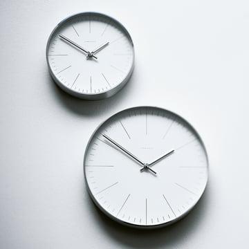 Max Bill Wall Clocks, Line - hanging on wall