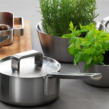 Iittala, Tools Set ambience image with herbs
