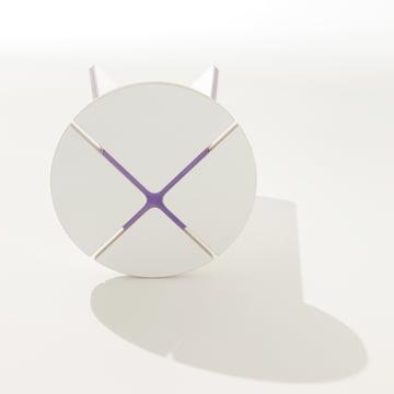 Müller Möbelwerkstätten - StoolX, purple - top