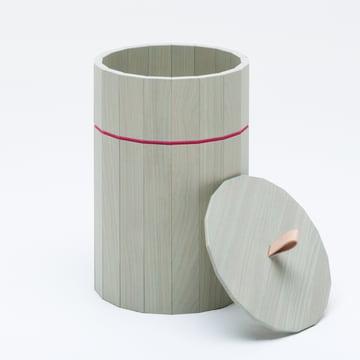 The Karimoku New Standard - Colour Bin in green