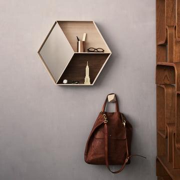 Ferm Living - Wall Wonder Mirror, maple