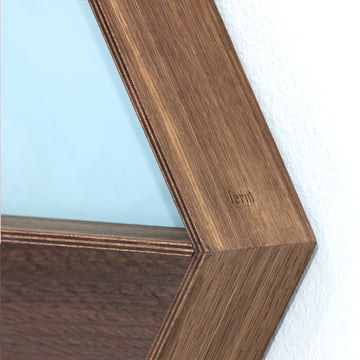 Ferm Living - Wall Wonder Mirror, smoked oak