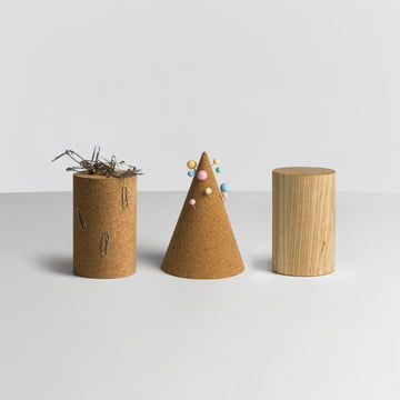 Hay - Cork Cone / Magnetic Tower - group