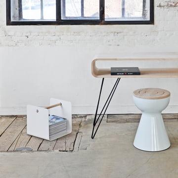 XLBoom - Ambientebild, Metro Sofa Table, Boto Stool, Flow