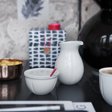 Rosendahl - Grand Cru Soft Milk Jug, Sugar Bowl