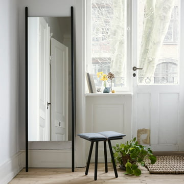 Skagerak - Georg Mirror, black