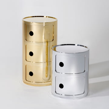 Kartell - Componibili Ø 32 cm (Metal)