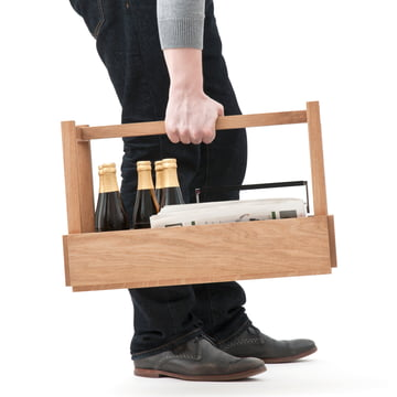 Design im Dorf - Bench and more, oak - carrying