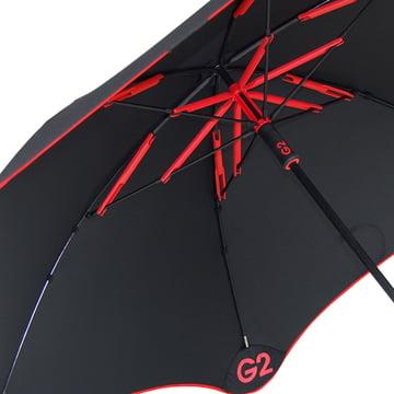 Blunt Golf G2 underside, red, details image