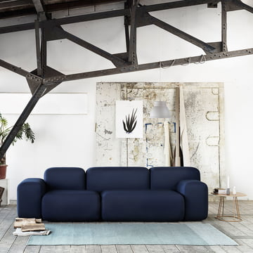 The Varjo Rug and the Airy Coffee Table by Muuto
