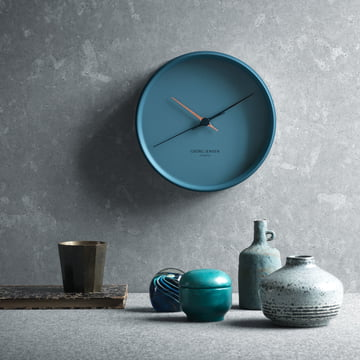 Georg Jensen - Henning Koppel Wall Clock Graphic blue, ambience