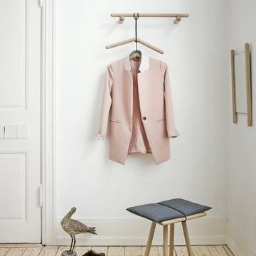 The georg coat rack by skagerak in the shop for Garderobe stander