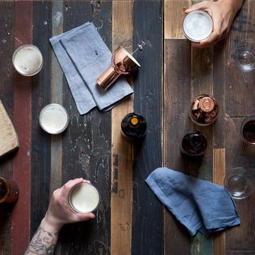 Menu – Beer Foamer, copper